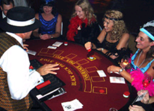 Casino Party Nights Florida, Inc. Roaring Twenties Gangster casino party