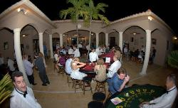 Casino Party Nights Florida, Inc. blackjack table at a bar mitzvah, Parkland, Florida