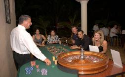 Casino Party Nights Florida, Inc. craps table, Ft. Lauderdale, Florida