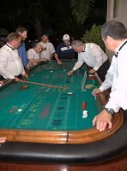 Casino Party Nights Florida, Inc. roulette - Wolfsonian Museum, Miami