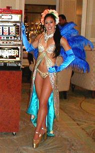 Las Vegas show girls from Brazil, the Breakers Hotel, Palm Beach, Florida