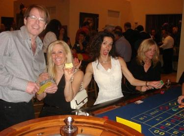Casino Party Nights Florida, Inc. roulette table, casino parties in Florida