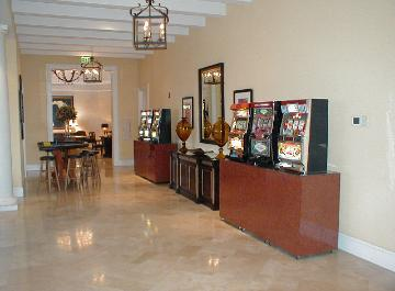 Casino Party Nights Florida, Inc. slot machines and blackjack table, bar mitzvah, Wellington, Florida
